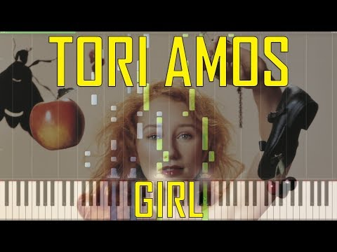Tori Amos Girl Piano Tutorial Chords How To Play Cover Youtube