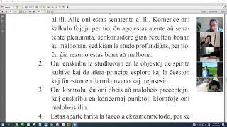 13 | La Fundamenta Instruo de Ŭonbulismo | 에스페란토 원불교 정전 공부 (zoom)