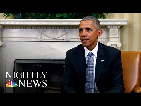 President Barack Obama Orders Review Of Russian Election Hacking Claims | NBC Nightly News