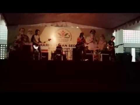 Lagu Negriku Kaya Pangan ...!!!! Dibawakan oleh- Misi Band saat HARI PANGAN SEDUNIA tahun 2016