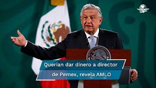 El presidente Andrés Manuel López Obrador instruyó al director de Petróleos Mexicanos publicar las comunicaciones que tuvo Vitol, luego de que la empresa ofreció resarcir daños tras haber admitido pagos de sobornos