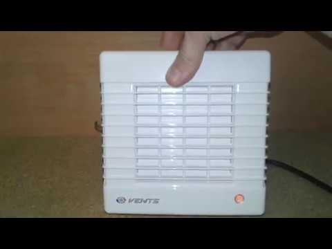 Вытяжной вентилятор с жалюзи Вентс 100 МА. Обзор и тест.