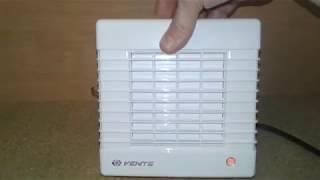 Витяжний вентилятор з жалюзі Вентс 100 МА. Огляд і тест.