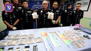 5 lelaki ditahan, dadah RM126,000 dirampas
