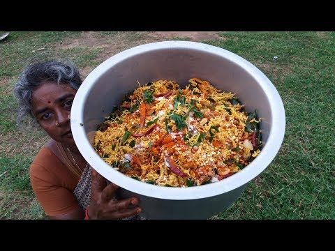 Famous Indian Snack MIXTURE Recipe Cooking In My Village / Food Money Food