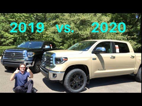 2020 Tundra vs 2019 Tundra - You Decide who wins!