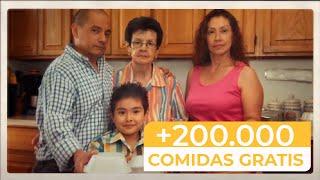 Familia reparte GRATIS 200.000 comidas en Nueva York - Un Angel en Queens - (Documental)