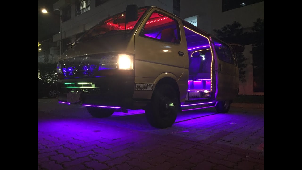 passenger hiace pimped Pimped VW Crafter