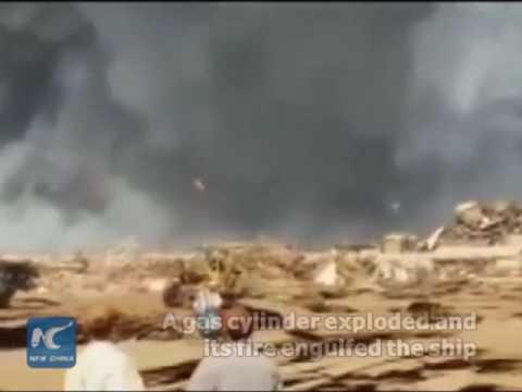 14 killed in explosion in Pakistani ship-breaking yard