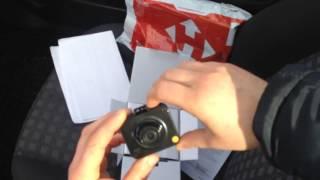 Розпакування відеореєстратора Pago m1 з Rozetka.com.ua