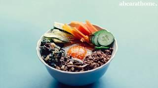 Bibimbap - abearathome | relaxing cooking video | music only