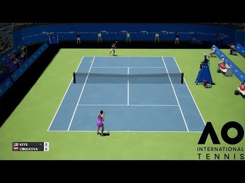 Madison Keys vs Dominika Cibulková - AO International Tennis - PS4 Gameplay