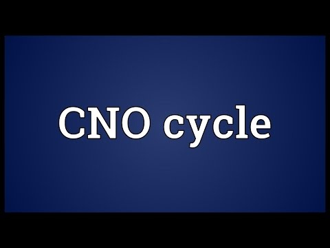 CNO cycle Meaning