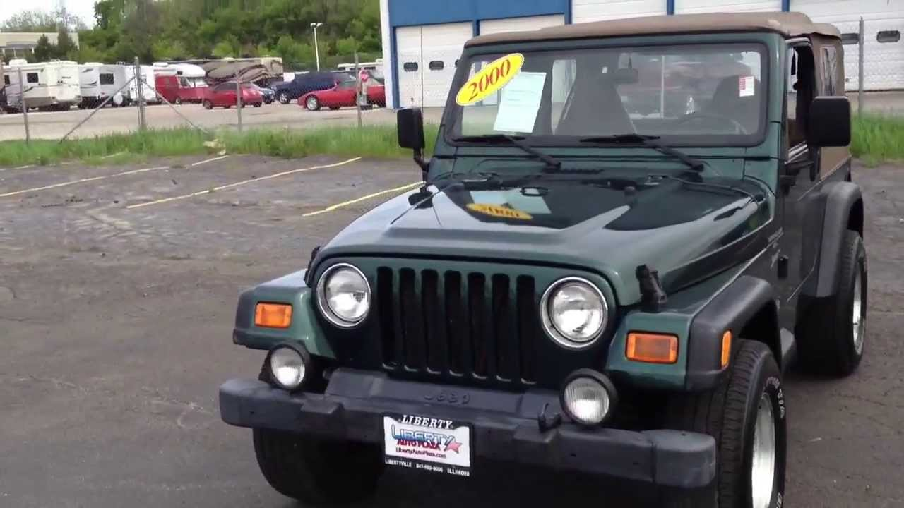 2000 Jeep Wrangler review - YouTube