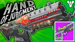 THE WAYS OF OLD! Hand of Judgment Scout Rifle | Destiny (Rise of Iron) Year 3