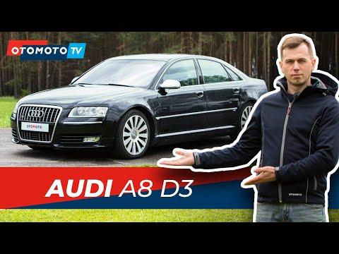 AUDI A8 D3 - nadal warte każdej kwoty?   Test OTOMOTO TV