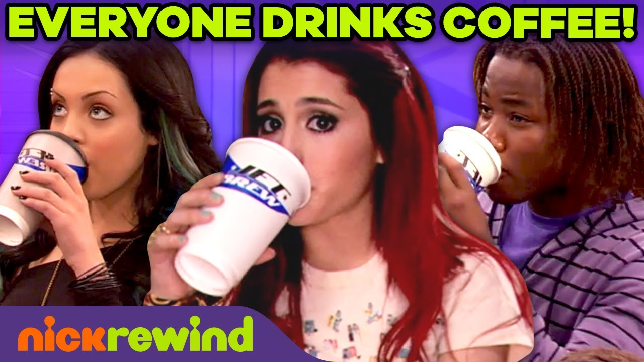 Download Victorious Characters Being Addicted to Coffee for 4 Min Straight | NickRewind