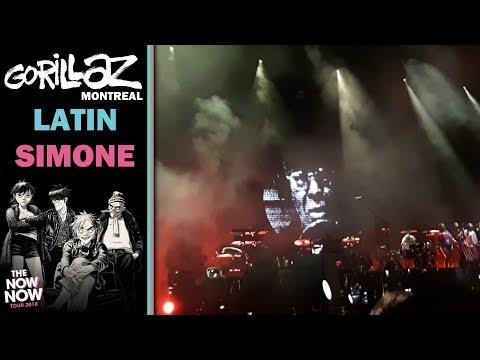 Gorillaz - Latin Simone (¿Qué Pasa Contigo?) | Live; Montreal (09-10-2018)
