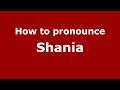How To Pronounce Shania American English US PronounceNames Com mp3