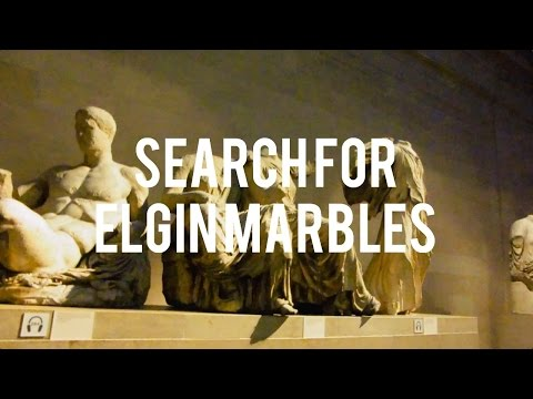 SEARCH FOR ELGIN MARBLES