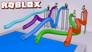 RACE IN TOBOGANES OF 999.999.999 METERS IN ROBLOX