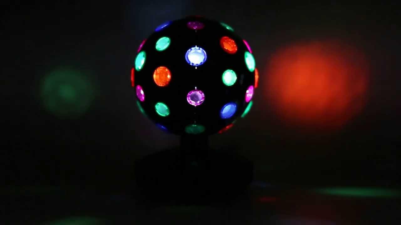 Oneconcept Disco Ball 8 B Led Lichteffekt