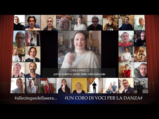 Alle 5 della sera del 29 aprile 2021 - Giornata Internazionale della Danza