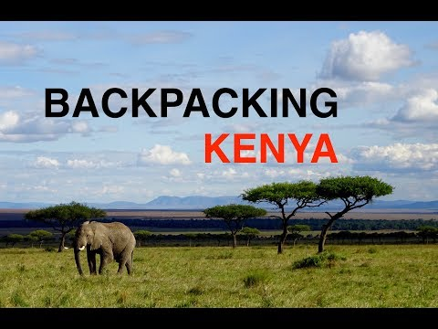 Backpacking Kenya