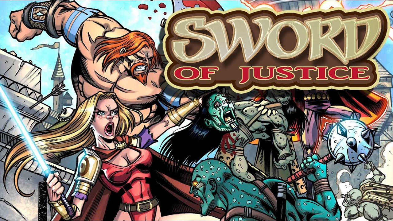 Download Sword of Justice #3 by TOP SECRET PRESS