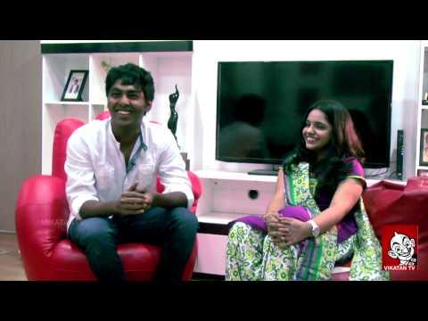 Mr. & Mrs. GV Prakash Talks on Veyil to Thalaivaa | Ananda Vikatan