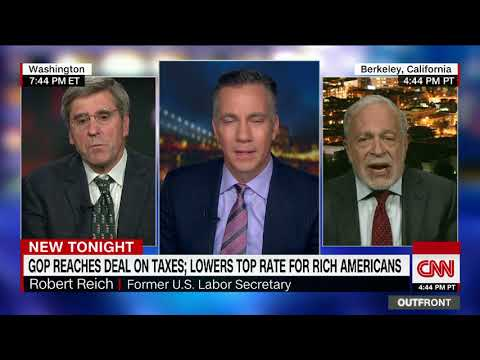 Will tax plan help middle class? Moore and Reich debate on CNN