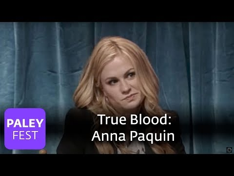 True Blood - Anna Paquin on Sookie, Alexander Skarsgård on Eric