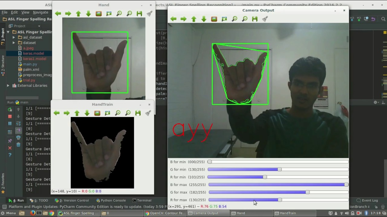 American Sign Language Detection and Recognition using CNN