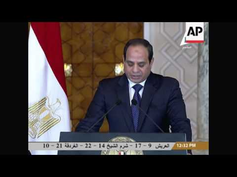 +4:3 Abe and President el-Sissi comment on extremism