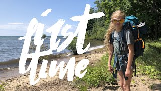 My Daughter's First Time Backpacking & Primitive Camping