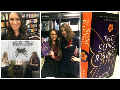 The Song Rising launch with Samantha Shannon!