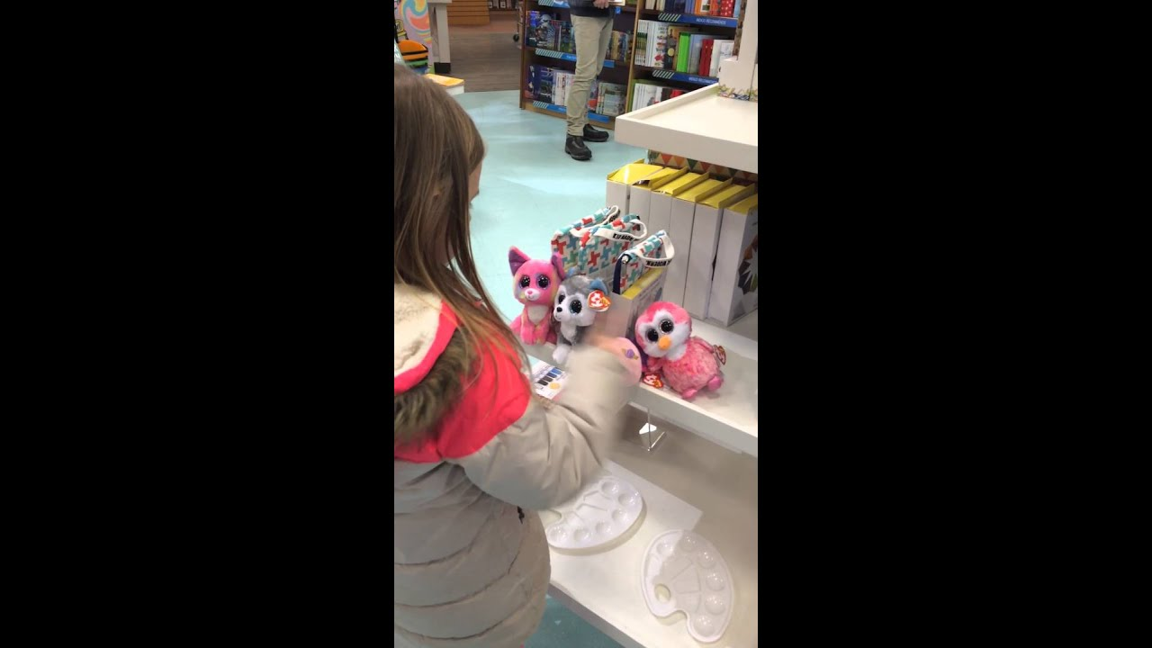 Andy choosing a beanie boo at Chapters - YouTube 7d153ff5c40