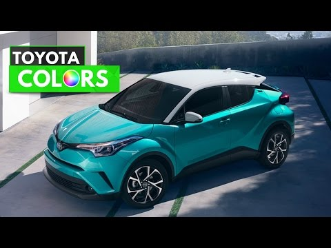 2018 Toyota CHR Colors
