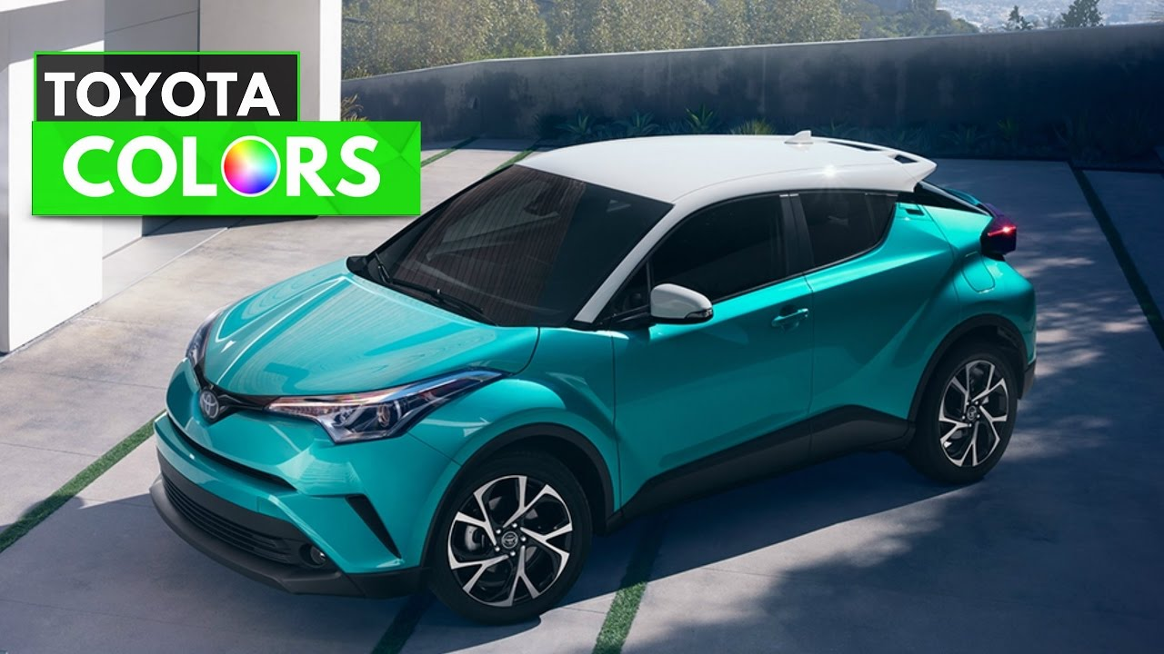 2018 Toyota Chr Colors Youtube