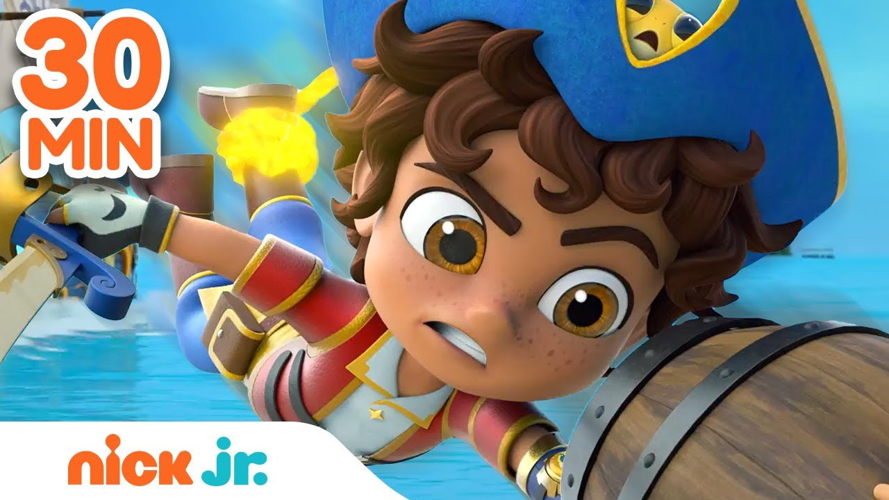 Download Santi's BEST Pirate Rescues #2! ⛵ | 30 Minute Compilation | Nick Jr.