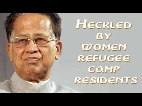 Assam: Displaced protesting the ethnic violence on Assam-Naga border