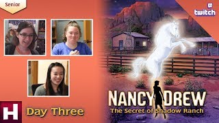 Nancy Drew: The Secret of Shadow Ranch SR [Day Three: Twitch] | HeR Interactive