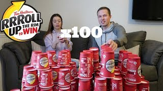 Roll Up The Rim x100 (Tim Hortons Truth Exposed)