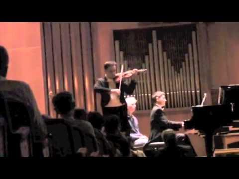 Richard Strauss Sonata per vl. e pf. op. 18 Rodolfo Bonucci vl. Corrado Greco pf. - live --