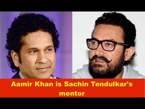 Aamir Khan is Sachin Tendulkar's mentor