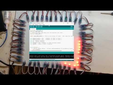 A Bit Of Programming Of The Banggood WS2811 RGB String