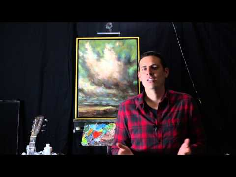 If you think you can't paint I have an answer for you.  Tim Gagnon - Artist