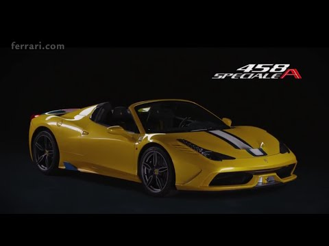 Ferrari 458 Speciale A Official Video Youtube