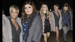 Kerry Katona steps out with daughters Molly and Lilly-Sue