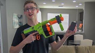 iPhone vs. Nerf Gun | YOU WON'T BELIEVE WHAT HAPPENS!